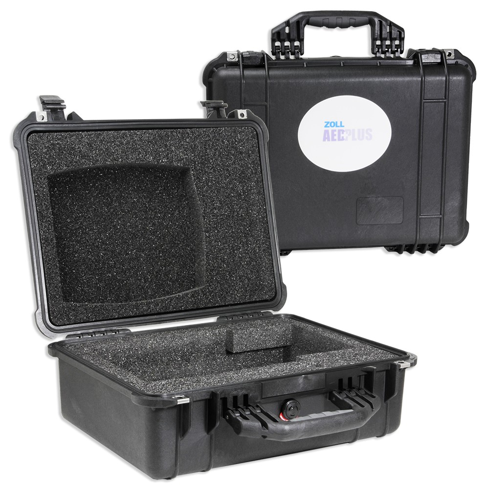 ZOLL AED Plus Large Hard-Sided Carry Case