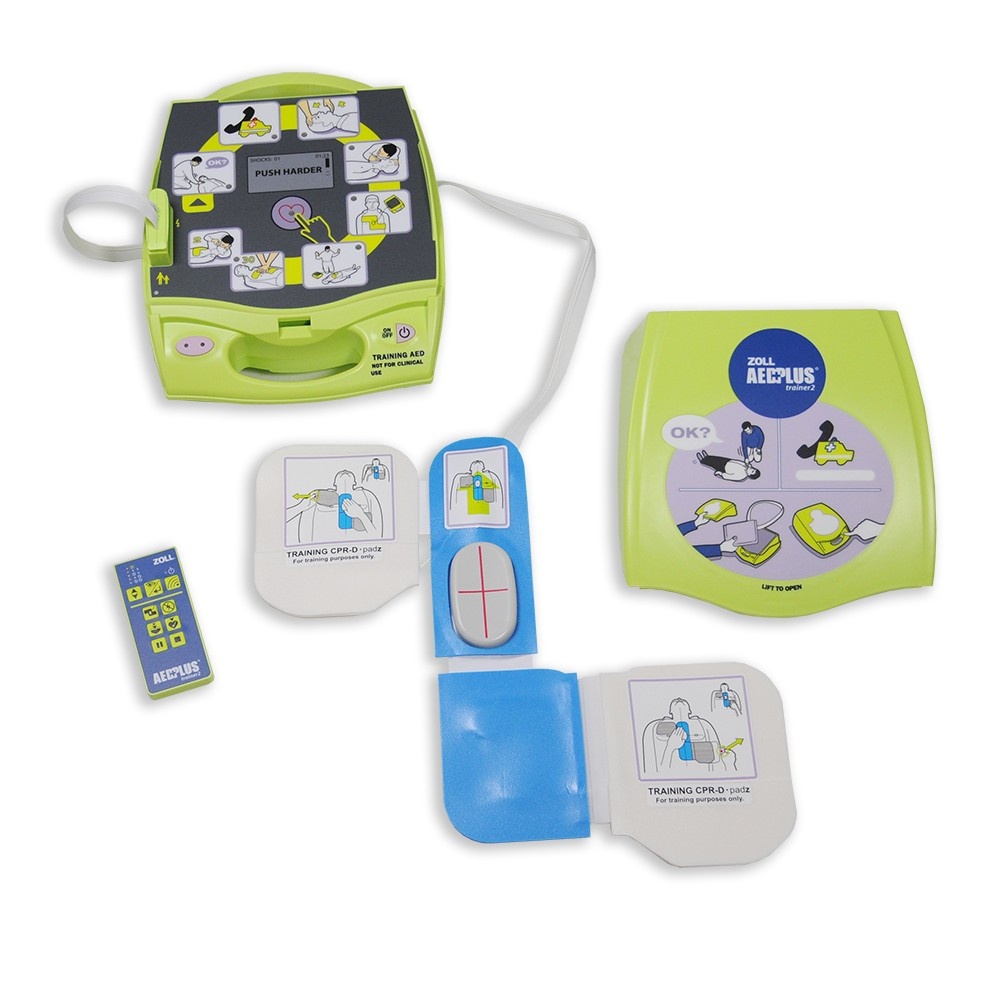 ZOLL AED Plus - Trainer2 New! - New AHA Guidelines!