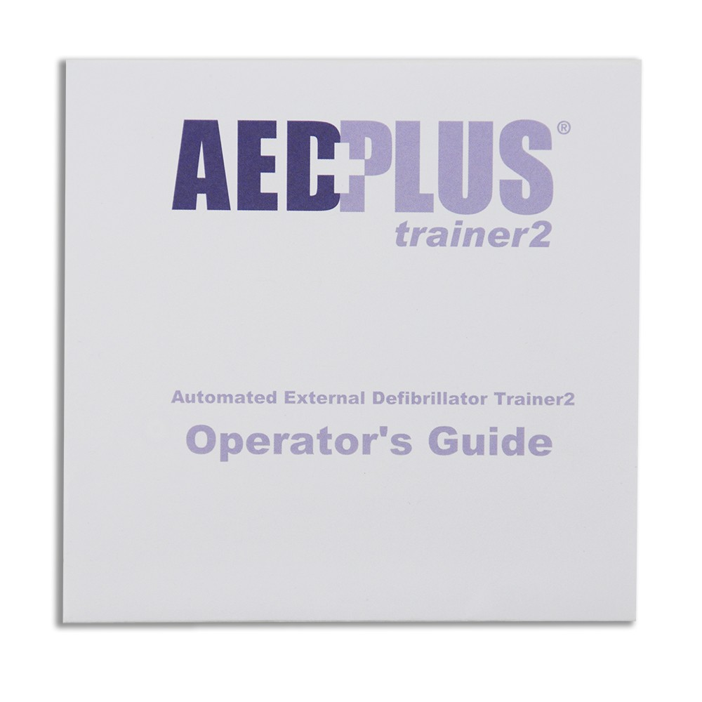 ZOLL AED Plus Operators TRAINER Guide Poster