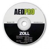 ZOLL AED Pro Administrative Software & AHA Guidelines Upgrade CD - for older model AEDs