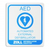ZOLL Medical AED Decal